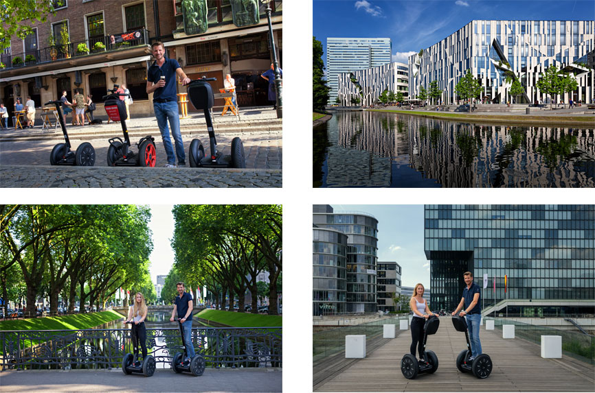Segway Düsseldorf City Tour